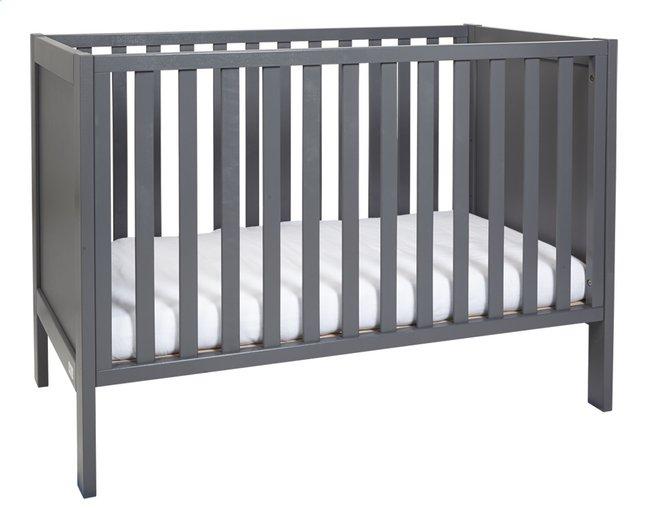 Afbeelding van Troll Babybed Loft warm grey from ColliShop