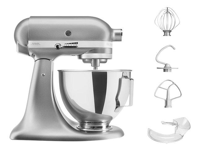 Kitchenaid Robot De Cuisine Contour Silver 5ksm95psecu Pas Cher A