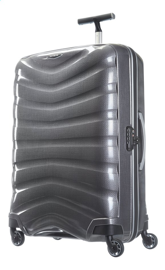 Afbeelding van Samsonite Harde reistrolley Firelite Spinner grey 75 cm from ColliShop