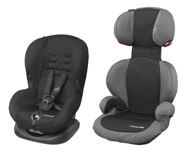 Afbeelding van Maxi-Cosi Autostoel Priori SPS Groep 1 + Rodi SPS Groep 2/3 slate black from ColliShop