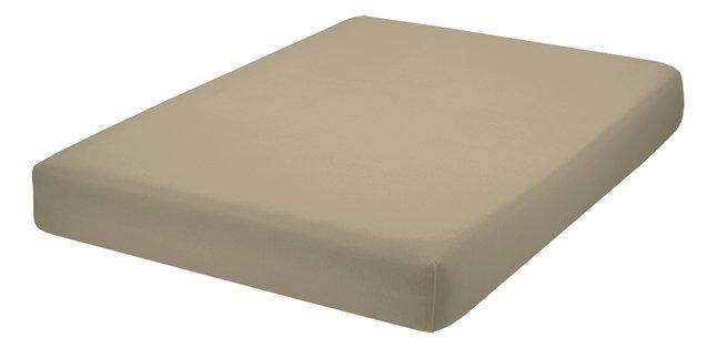 Image pour Home lineN Drap-housse Bicolore mastic flanelle à partir de ColliShop