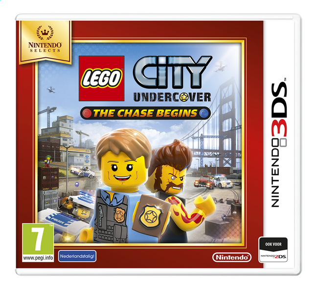 Image pour Nintendo 3DS LEGO City: Undercover - The Chase Begins Selects NL à partir de ColliShop