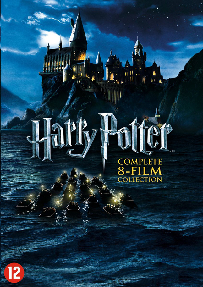 Afbeelding van Dvd-box Harry Potter Complete 8-film collection from ColliShop