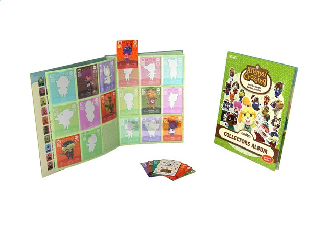 Afbeelding van Animal Crossing Collectors Album amiibo Cards - Serie 1 from ColliShop