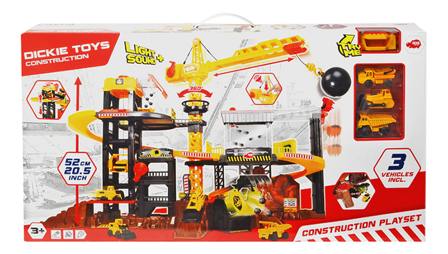 Afbeelding van Dickie Toys speelset Construction from ColliShop
