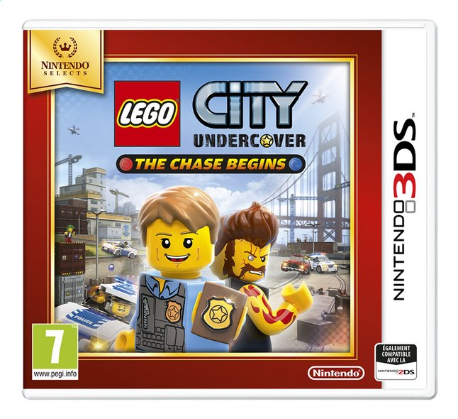 Image pour Nintendo 3DS LEGO City: Undercover - The Chase Begins Selects FR à partir de ColliShop