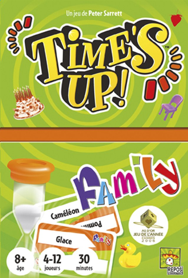 Image pour Time's Up ! Family à partir de ColliShop