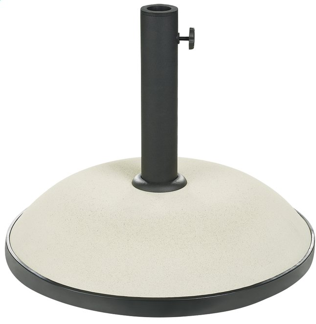 Image pour Pied de parasol en béton coloré blanc 35 kg à partir de ColliShop