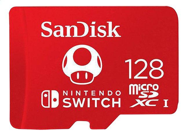 Afbeelding van SanDisk geheugenkaart microSDXC voor Nintendo Switch 128 GB from ColliShop