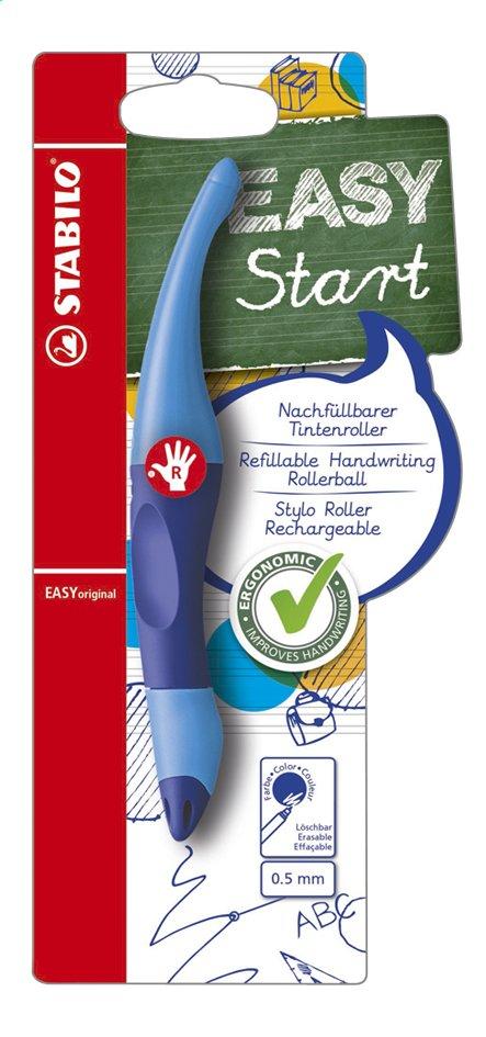 Image pour STABILO rollerball Easy Start pour droitiers bleu à partir de ColliShop
