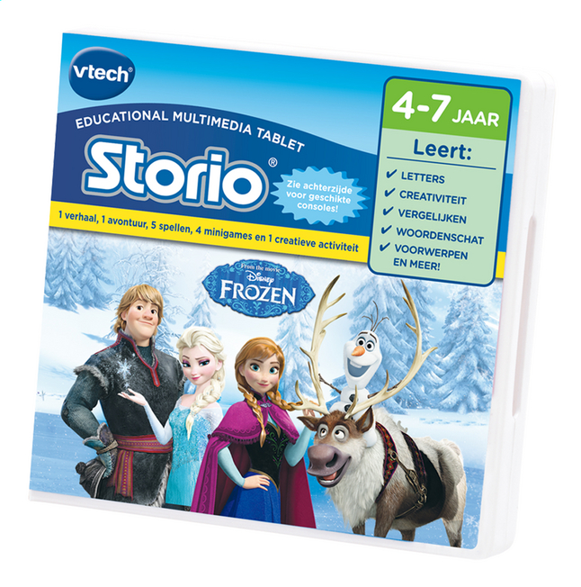 Afbeelding van VTech spel Disney Frozen Storio from ColliShop