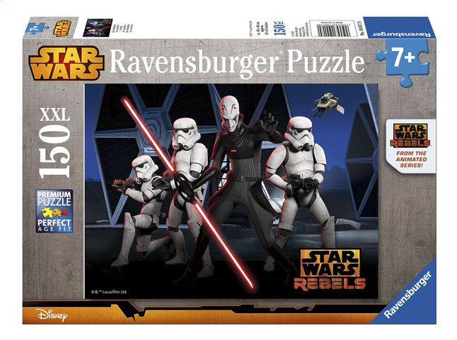 Afbeelding van Ravensburger XXL puzzel Star Wars The Rebels from ColliShop