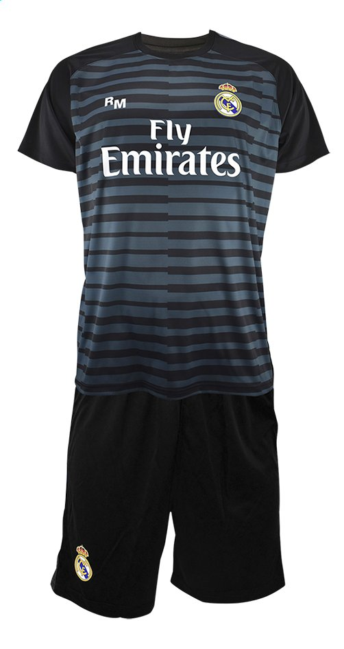 Image pour Tenue de football Real Madrid Thibaut Courtois noir taille 116 à partir de ColliShop