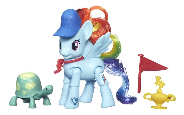 Afbeelding van My Little Pony speelset Explore Equestria Rainbow Dash Ponyspurt from ColliShop