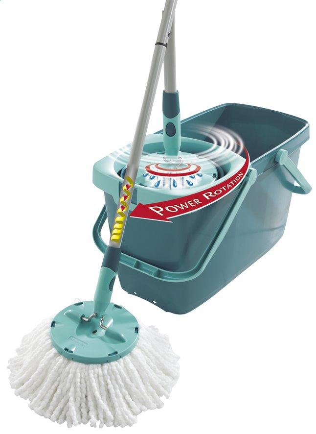 Leifheit Set met mop Clean Twist blauw