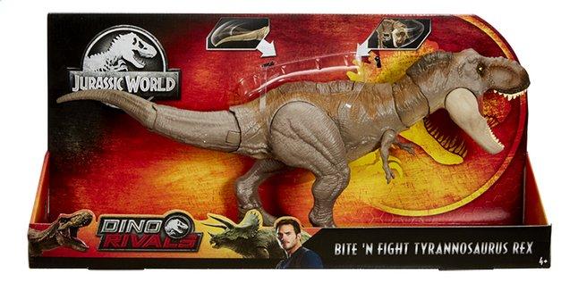 Image pour Jurassic World Dino Rivals - Bite 'N fight Tyrannosaurus Rex à partir de ColliShop