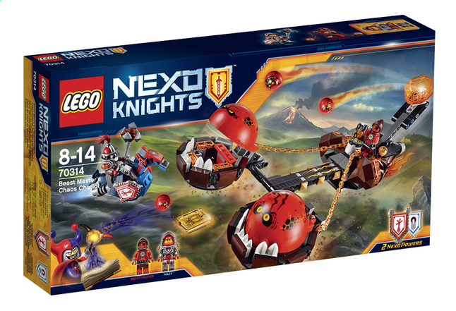 Afbeelding van LEGO Nexo Knights 70314 Chaoskoets from ColliShop