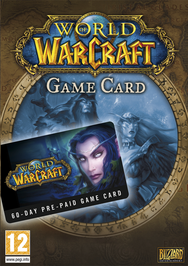 Afbeelding van Pc World of Warcraft: Prepaid Card 60 Days ENG from ColliShop