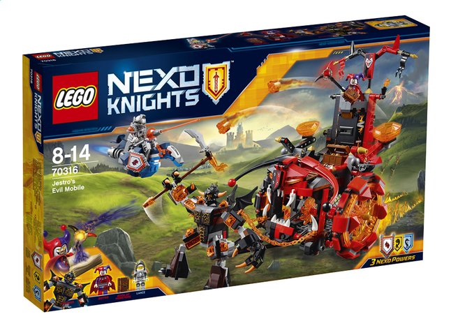 Afbeelding van LEGO Nexo Knights 70316 Jestro's evil mobile from ColliShop