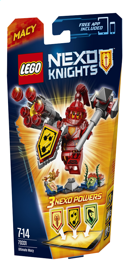 Image pour LEGO Nexo Knights 70331 Macy, l'ultime chevalier à partir de ColliShop