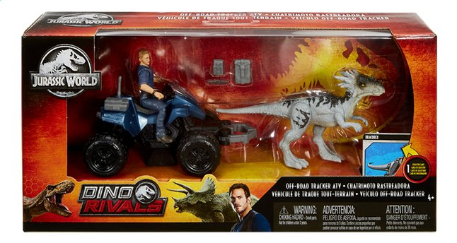 Afbeelding van Jurassic World speelset Off-Road Tracker ATV from ColliShop
