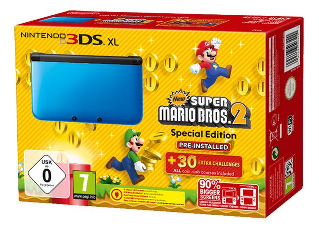 Afbeelding van Nintendo 3DS XL console + New Super Mario Bros. 2 NL/FR from ColliShop