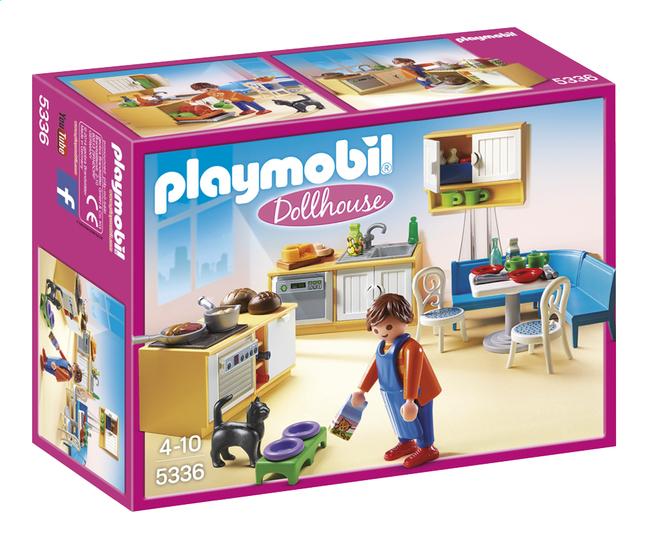 Afbeelding van Playmobil Dollhouse 5336 Keuken met zithoek from ColliShop