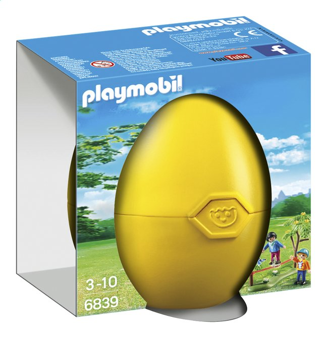 Afbeelding van Playmobil Easter 6839 Kinderen met slackline from ColliShop