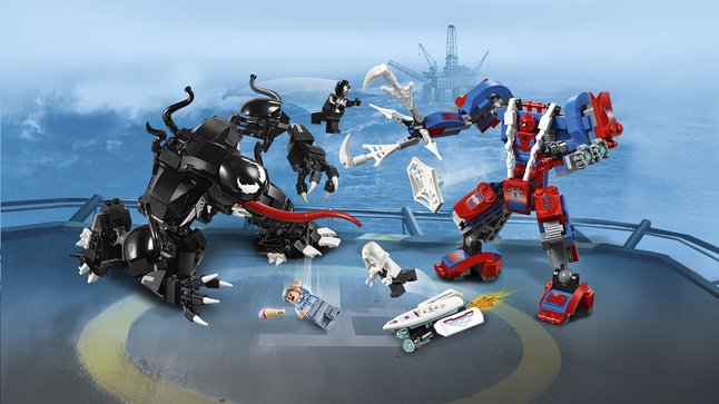 Lego 76115 Le Robot Contre De Spider Man Venom EDH92I