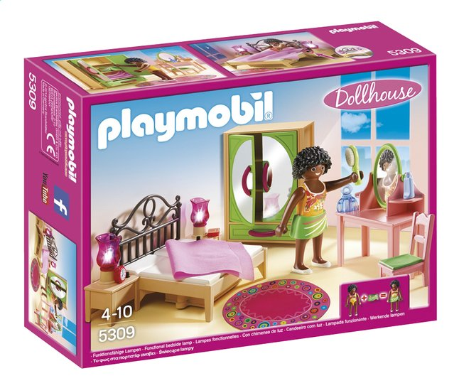 Image pour Playmobil Dollhouse 5309 Chambre d'adulte avec coiffeuse à partir de ColliShop