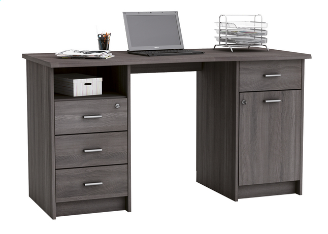 Demeyere meubles bureau monaco vulcano eik collishop for Meuble du bureau