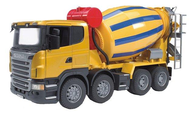 Image pour Bruder camion toupie Scania à partir de ColliShop