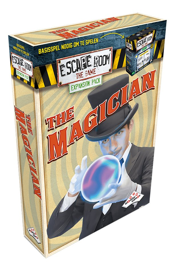 Afbeelding van Escape Room The Game uitbreiding The Magician from ColliShop