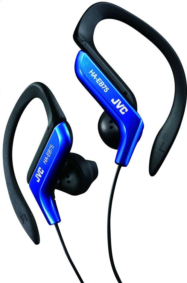 Afbeelding van JVC oortelefoon HA-EB75-A-E Clip Sport blauw from ColliShop