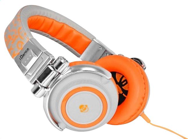 Image pour iDance casque Disco 510 orange/argenté à partir de ColliShop