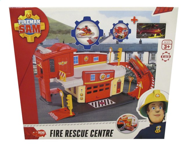 Afbeelding van Dickie Toys set Brandweerman Sam Fire Rescue Centre from ColliShop