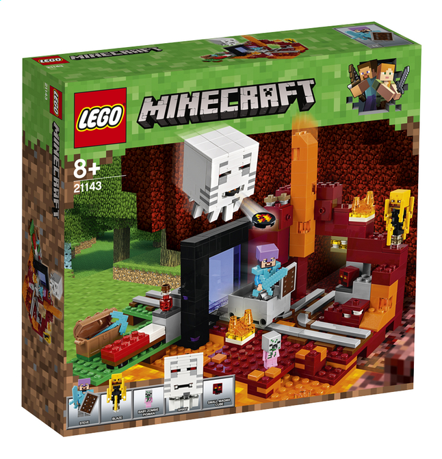 Afbeelding van LEGO Minecraft 21143 Het Onderwereldportaal from ColliShop