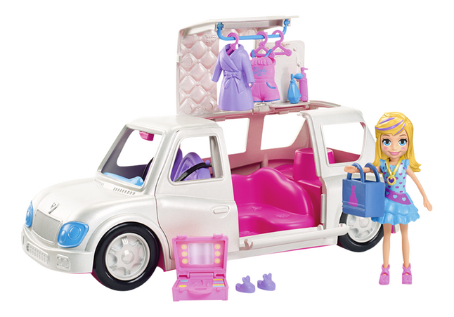 Polly Pocket limousine luxueuse