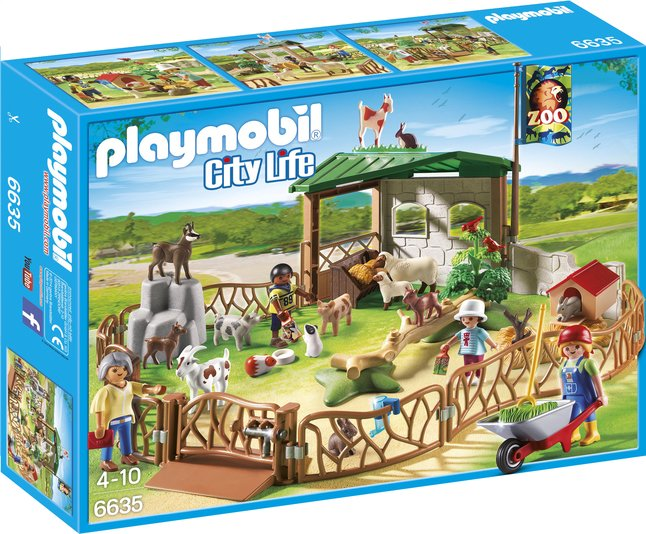 Image pour Playmobil City Life 6635 Parc animanlier avec visiteurs à partir de ColliShop