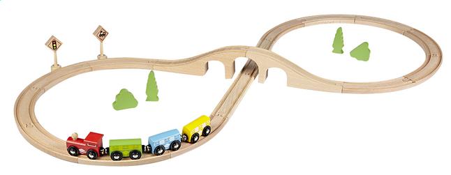 Afbeelding van DreamLand Houten treinset from ColliShop