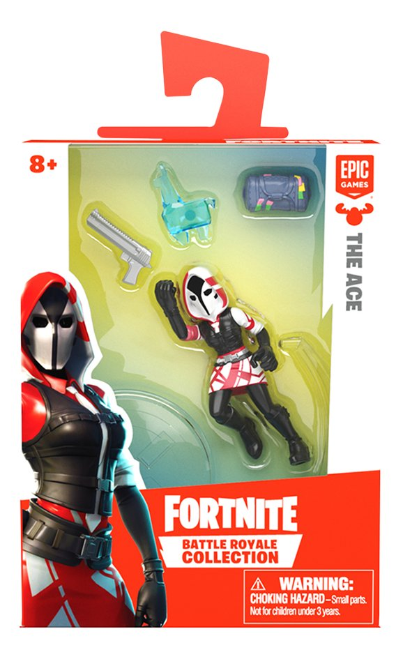 Afbeelding van Figuur Fortnite Battle Royale Collection The Ace from ColliShop
