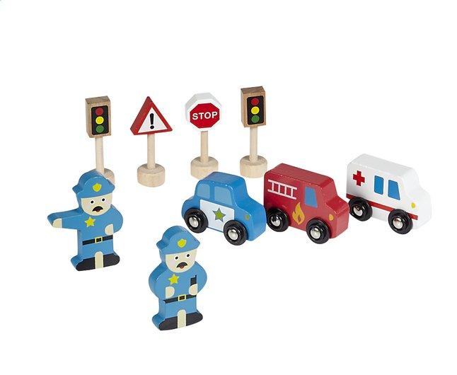 Houten Garage Speelgoed : Dreamland uitbreidingsset voor houten garage stukjes collishop