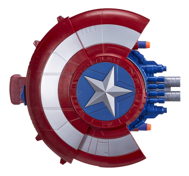 Afbeelding van Nerf Captain America: Civil War blaster reveal schild from ColliShop