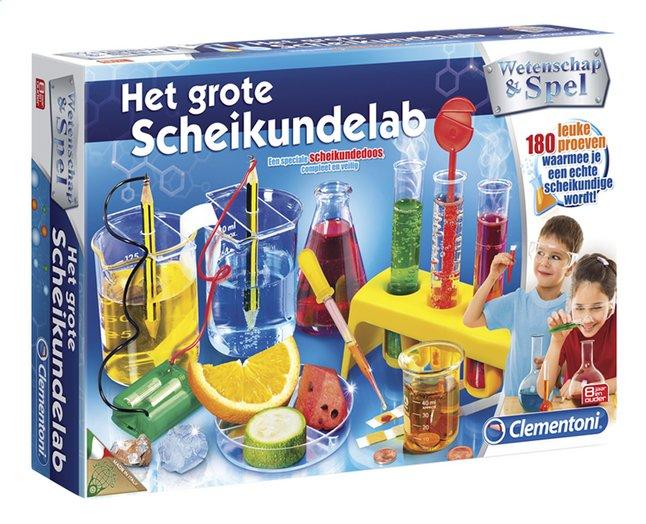 Afbeelding van Clementoni Wetenschap & Spel Het grote scheikundelab from ColliShop
