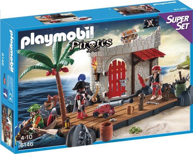 Afbeelding van Playmobil Pirates 6146 SuperSet Pirateneiland from ColliShop