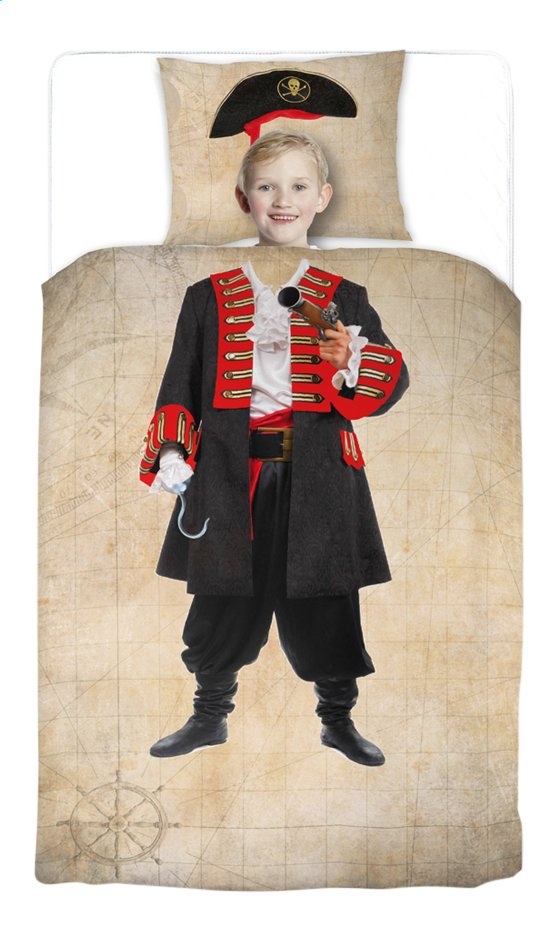 Image pour Day Dream housse de couette Pim Le Pirate coton 140 x 200 cm à partir de ColliShop