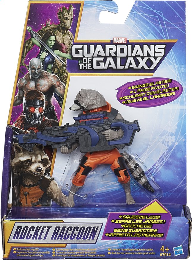 Image pour Figurine Les Gardiens de la Galaxie Rocket Raccoon à partir de ColliShop