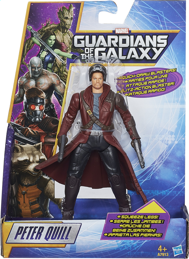 Afbeelding van Figuurtje Guardians of the Galaxy Peter Quill from ColliShop