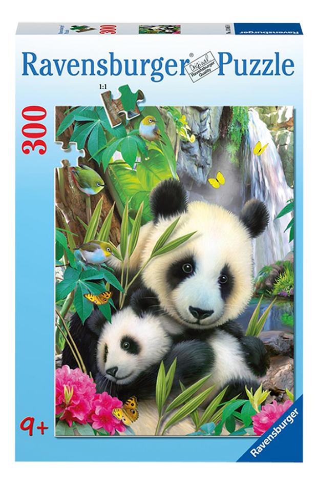 Image pour Ravensburger puzzle Charmant panda à partir de ColliShop