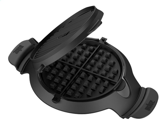 Afbeelding van Weber Wafel-/croque-monsieurplaten voor barbecue Gourmet BBQ System from ColliShop